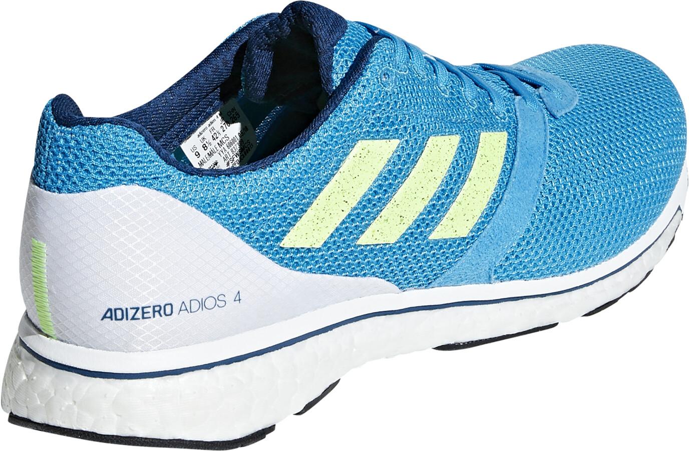 hot sale online 01c47 8ee62 adidas Adizero Adios 4 scarpe da corsa Uomo turchese